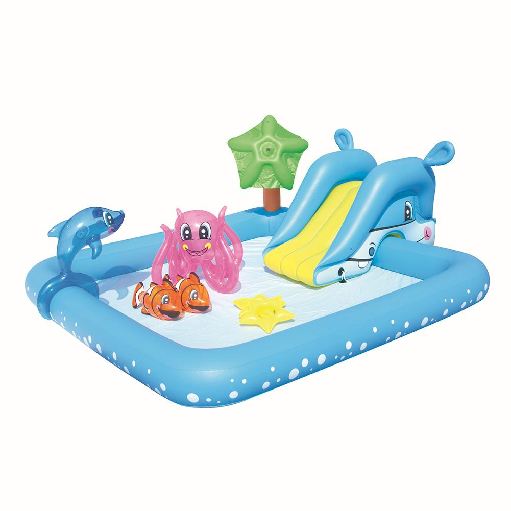 Center-Toys Water-Pad Swimming-Pool Baby Outdoor Inflatable Play for Courtyard In-Stock