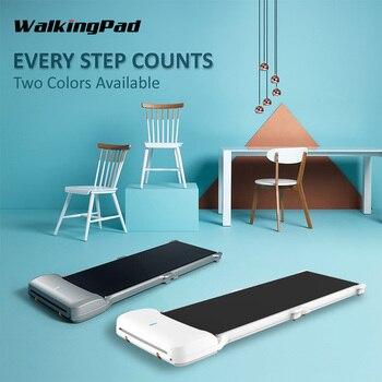 black treadmill pvc conveyor belt WalkingPad Xiaomi Joint Treadmill C1 Indoor smart Folding Conveyor Belt Jog Walk Machine Aerobic Exercise Home Sport Fitness