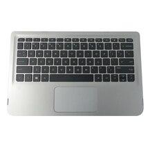 NEUE FÜR hp X360 310 G2 Silber Palmrest W/Tastatur & Touc hp ad 824136-001