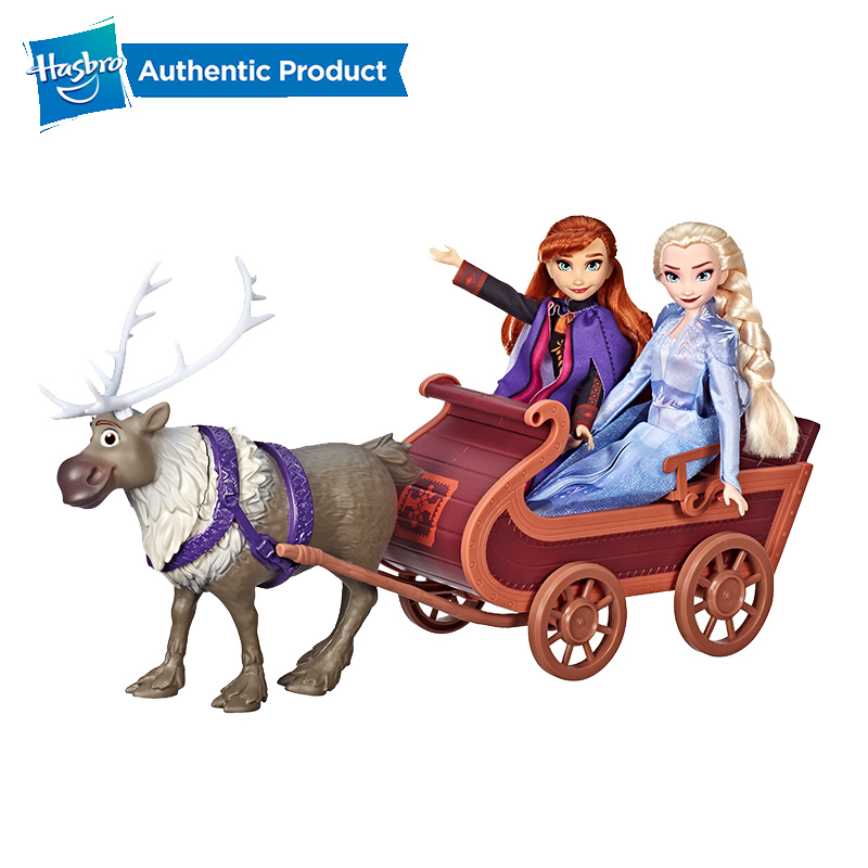 Hasbro Disney traîneau aventure ensemble de poupée comprenant Elsa Anna mode poupées jouets inspirés de la reine des neiges 2 film