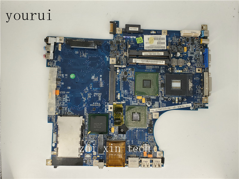 Yourui For Acer Aspire 5680 5630 Laptopmotherboard HBL LA-2921P MBAFD02001 MB.AFD02.001 DDR3 Test Ok