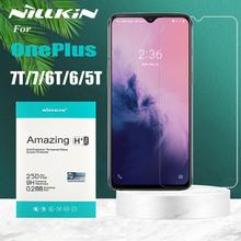 OnePlus Nord 7T 7 6T 6 5T Tempered Glass Screen Protector Nillkin 9H Clear Safety Protective Glass on One Plus Nord 7T 7 6T 6 5T