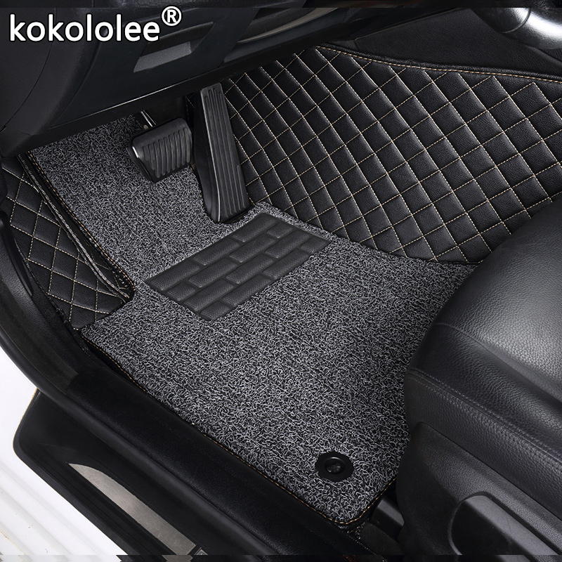 kokololee Custom car <font><b>floor</b></font> <font><b>mats</b></font> for <font><b>Lexus</b></font> All Models ES IS-C IS LS RX NX GS CT GX LX570 <font><b>RX350</b></font> LX RC RX300 LX470 auto styling image