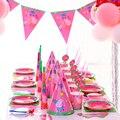 Свинка Пеппа, комплекты для вечеринки на день рождения, аниме, фигурки, украшения для вечеринок, чашка, шляпка ложка, мероприятие, подарки на ...