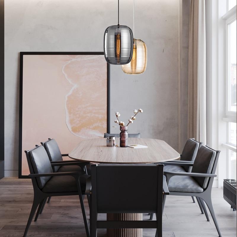 Japan Lampen Industrieel Crystal   Restaurant  Home Decoration E27 Light Fixture Pendant Lights Luminaire Suspendu