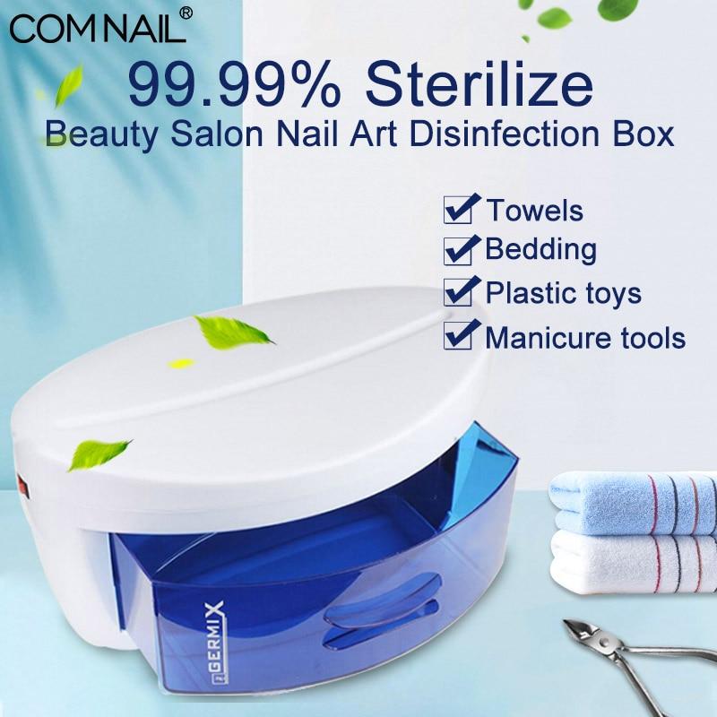 Sterilizer For Nails Ultraviolet Light Sterilizer Box Nail Tools UV Disinfection Cabinet Nail Art Tool Sterilizer Box Manicure
