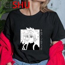 Hunter X Hunter Killua Funny Cartoon T Shirt Men Fashion Jap
