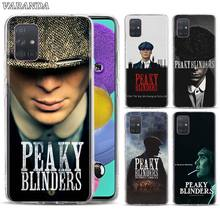 Peaky Blinders Phone Case For Samsung Galaxy A10 A10e A20 A20e A30 A40 A50 A51 A70 A71 A80 A11 A21s A31 A41 Soft TPU Back Cover carbon fiber case for funda samsung a50 case samsung galaxy a50 a70 a40 a10 a10e a20 a20e a30 a60 a2 core case soft back cover