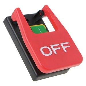 Image 3 - Interruptor de botão de pressão eletromagnético paddle switchvoltage proteção serras de mesa atacado dropshipping