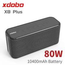 80W High-Power Draagbare Bluetooth Speaker Xdobo X8 Plus Draadloze Diepe Basgeluid Kolom Tws Subwoofer Music Center boombox Sound