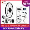 Комплект для переоборудования электрического велосипеда 36V 350W электровелосипед велосипед Bike 36 в 10 Ач MTB Road bike, передний/задний бесщеточный д...