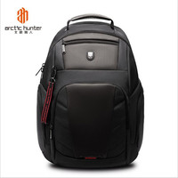 ArcticHunter High Capacity Men Anti Theft 15.6 inch Laptop Backpack Male USB Charging Waterproof Bag Business Casual Travel Bag