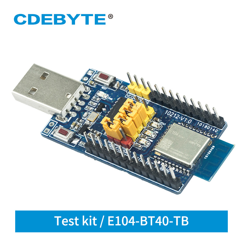 E104-BT40-TB Test Board For Bluetooth Module Dual Mode USB Interface