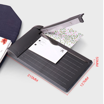 A5 Paper Trimmer 1-6 Inch Photo Paper Guillotine Built-In Ruler Paper Cutter Universal Office School Stationery Cutting Supplies