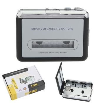 LEORY 12V Klassische USB Cassette Player Kassette zu MP3 Converter Capture Walkman Musik Player Kassette Recorder Konvertieren musik