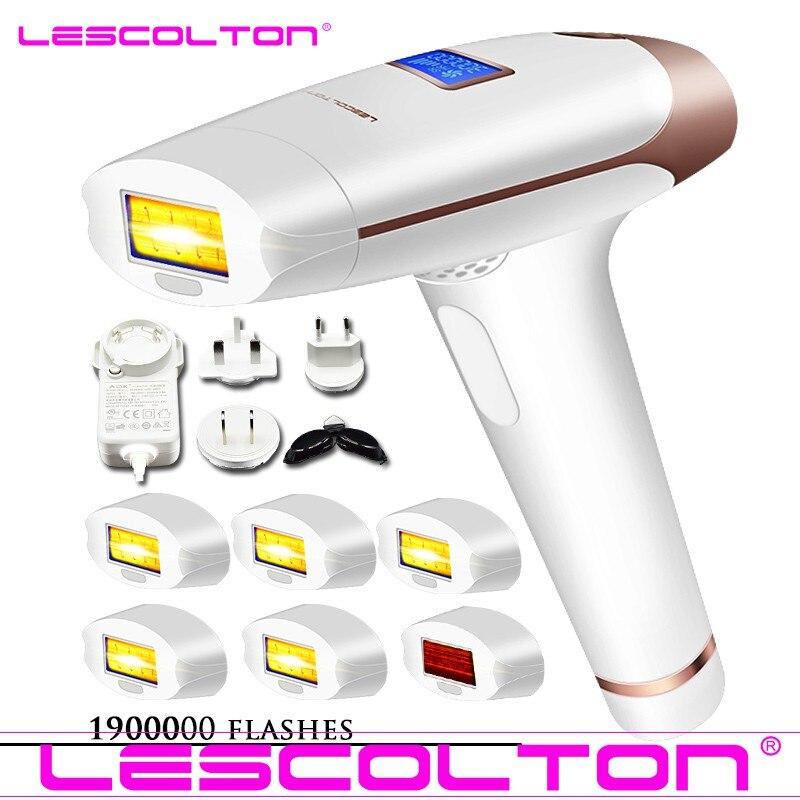Plus de lampes choisissent l'épilateur de chargement initial laser épilation LCD Machine d'affichage Laser Permanent Bikini tondeuse électrique dépiladora laser
