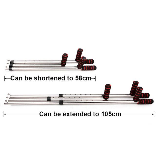 3 Bar Leg Stretcher Adjustable Split Stretching Machine Stainless Steel Home Yoga Dance Exercise Flexibility Training Equipment 5