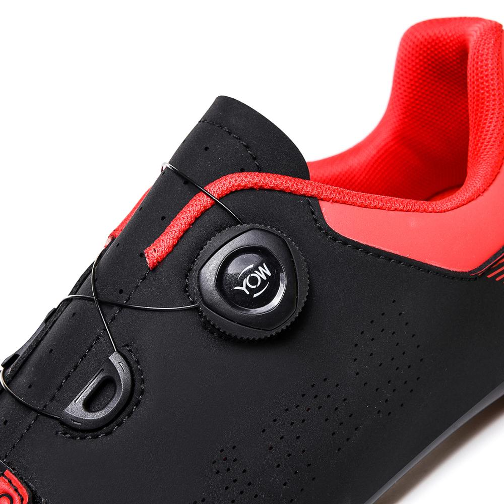 Купить с кэшбэком LTSUYO men and women bicycle professional riding shoelace lock mountain bike shoes couple bike racing shoes off-road road shoes