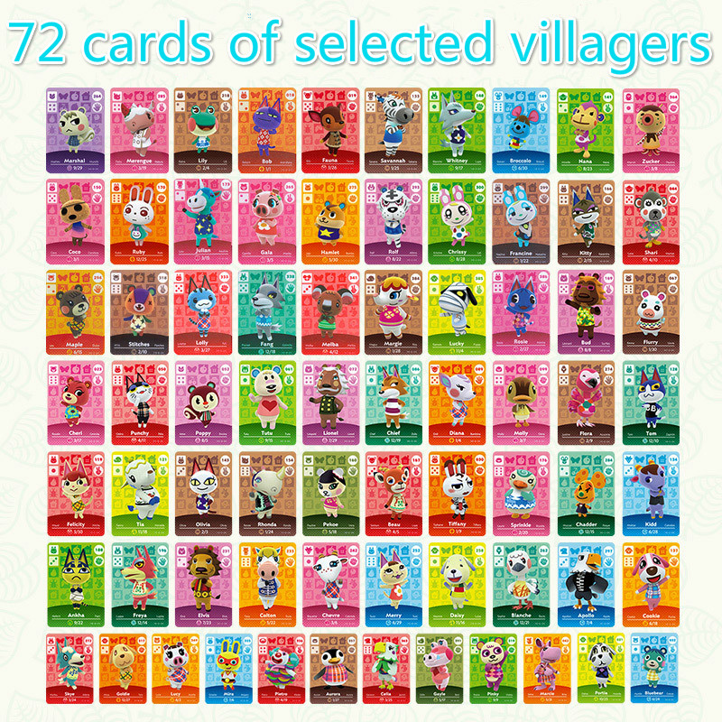 Animal Crossing Card Amiibo Card Work For NS Games Toys Hobbies Hobby Collectibles Game Collection Anime Cards