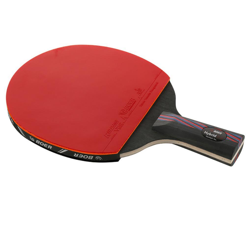 BOER Red Black Carbon King 9.8 Base Table Tennis Bat Ping Pong Bat