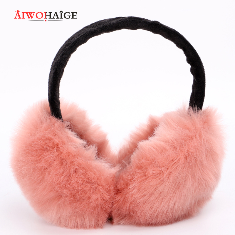 2019 Autumn Winter New Warm And Comfortable Solid Color Earmuffs Men And Women Universal Ski Sports Earmuffs Girl's Headphones