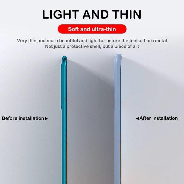 Original Liquid Silicone Phone Case For Huawei P30 P20 P40 Mate 30 20 Honor 20 Lite Pro P Smart 2019 Luxury Soft Protector Cover 5