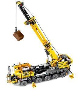 Image 4 - City Engineering Machine Car Building Blocks Technic Enlighten DIY Construction Bricks Toys For Children Kids Christmas Gifts