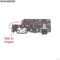 USB originale Charging Dock Presa di Ricarica Connettore di Bordo Cavo Della Flessione Con Audio per Cuffie Martinetti Per Xiaomi Redmi NOTA 5/ 5 PRO