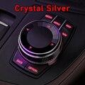 Кристальные/Керамические автомобильные мультимедийные пуговицы, наклейки для BMW F30, F10, F20, E87, E90, E92, E93, F34, X5, F15, E70, X3, F25, X1, F48, E84