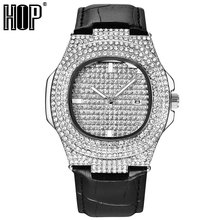 Hip Hop 5 Colors Men Iced Out Watches Luxury Date Quartz Wrist With Micropave CZ Watch For Women Jewelry
