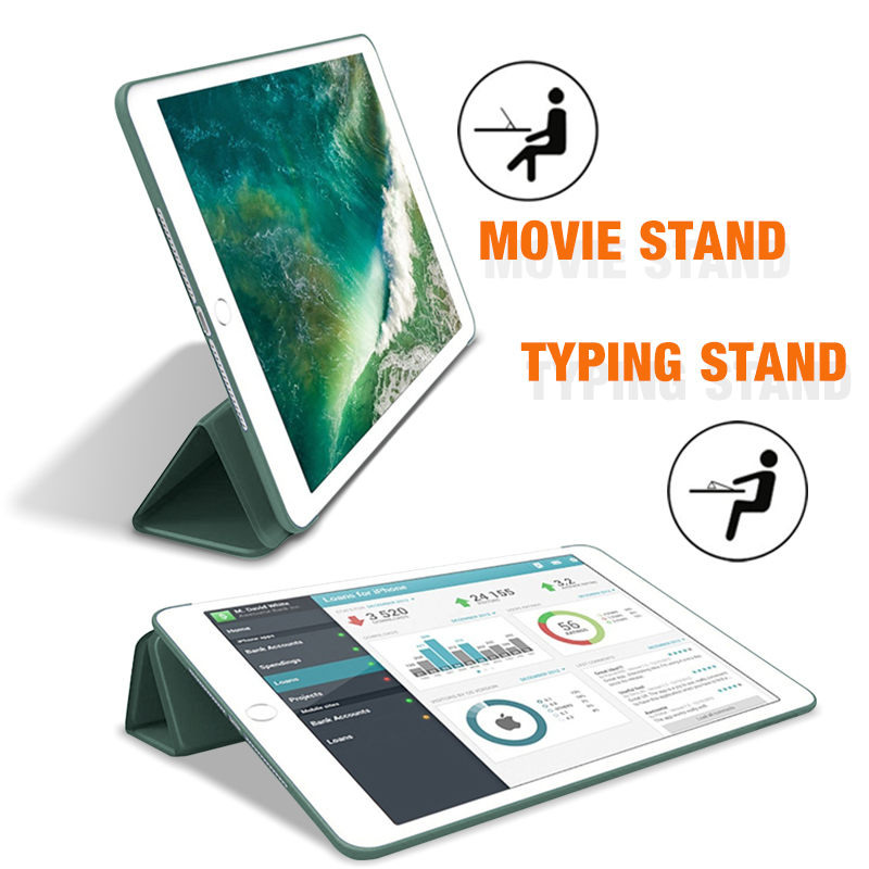 2019 iPad 10.2 Case For iPad 7th Generation Cover For 2017 2018 iPad 9.7 5/6th Air 2/3 10.5 Mini 4 5 2020 Pro 11 Air 4 10.9-3