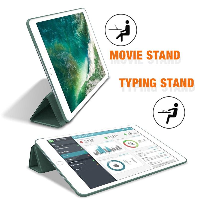 2019 iPad 10,2 чехол для iPad 7-го поколения Чехол для 2017 2018 iPad 9,7 5/6th Air 2/3 10,5 Mini 4 5 2020 Pro 11 Air 4 10,9-3