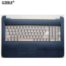 GZEELE English Laptop keyboard For HP 250 G4 15-ac 15-ac000 15-af 15-af000 with palmrest Upper cover BLACK dc020026m00 laptop 30pin lcd cable fit for hp 15 ac 15 af 250 g4 255 g4 ahl50 series motherboard screen cable