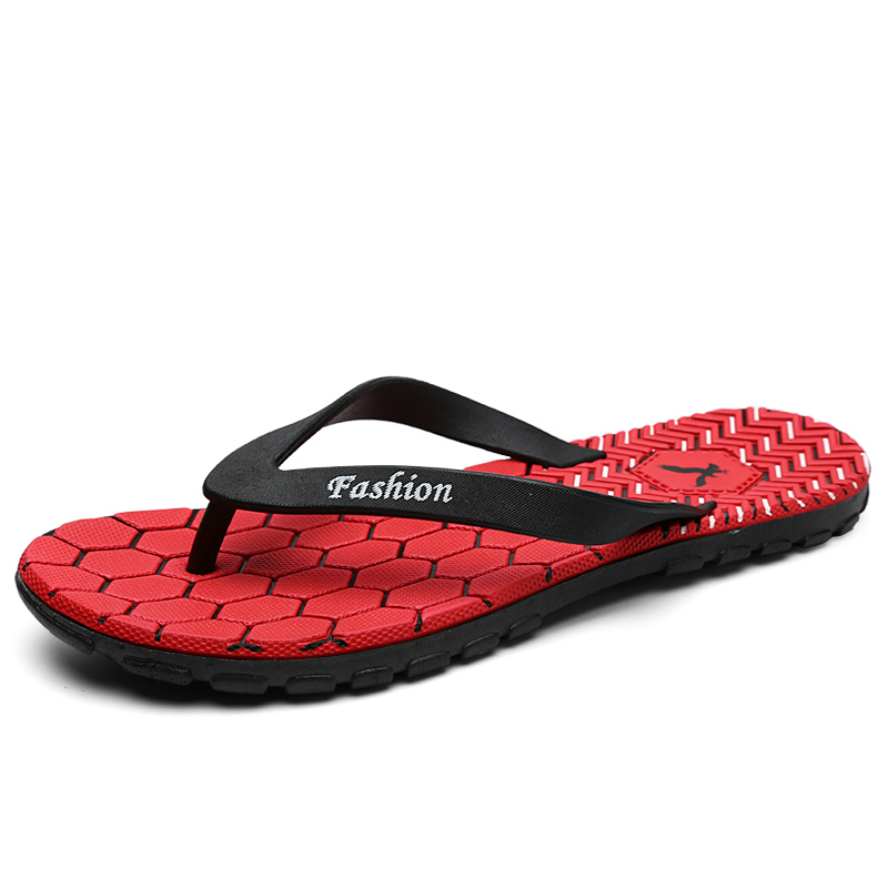 Home Sandals Non-slip Soft Bottom Uneven Spring Beach Shoe New Home Slippers Men's and Indoor Slippers