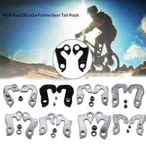 Universal MTB Road Bicycle Rear Derailleur Hanger Cycling Alloy Frame Gear Tail Outdoor Bike Accessories Hook Parts