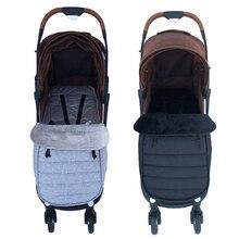 Baby Kinderwagen Schlafsack Kinderwagen Warme Fußsack Baumwolle Umschlag Sleep Für Yoyaplus und Universal Kinderwagen Zubehör