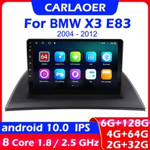 Car Android 10 For BMW X3 E83 2004   2012 Car Radio Multimedia Video Player Navigation GPS 2 din no dvd