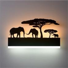 Modern Nordic LED Acrylic Wall Lamps Frog Front Light 110V-220V Bedroom Balcony Stair Aisle