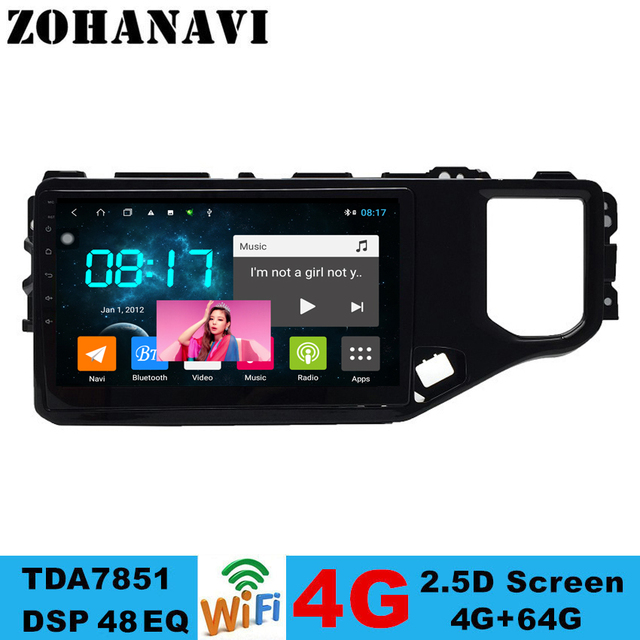 ZOHANAVI 4G+64G Android 10.0 Car Radio for Chery Tiggo 4 4X 5X 2019  Car multimedia Player with PIP and Split screen function