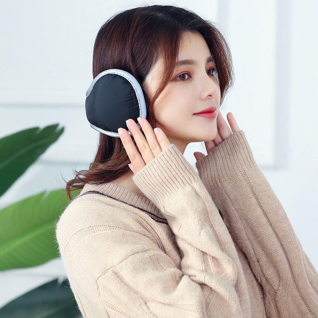 Riding Ear Cover Ear Protectors For Men Women After Wearing Ear Muffs Daily Casual Wild Solid Color Earmuffs Simple Winter