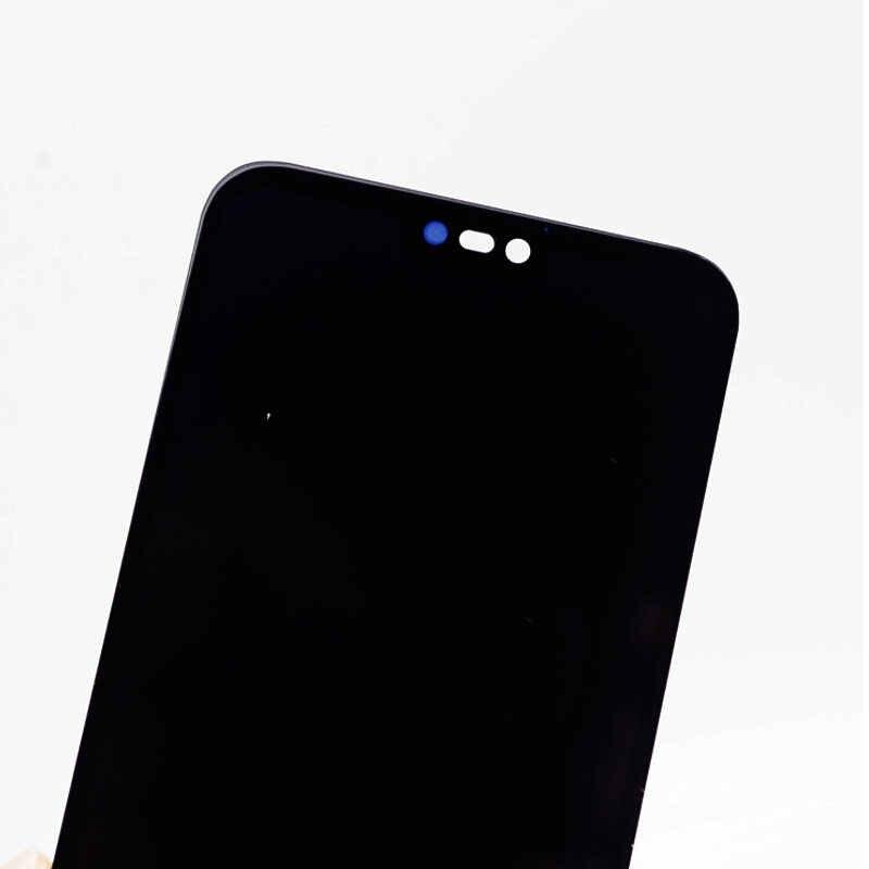 شاشة LCD ذات نوعية جيدة لهاتف هواوي P20 Lite شاشة LCD مع مستشعر باللمس تجميع كامل لهاتف هواوي نوفا 3E ANE LX1 LX3 L23