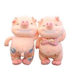 Пикантная плюшевая игрушка свинка 25 см/35 см/45 см, мягкие игрушки, милые животные, плюшевые, песчаный пляж, свинья, подушка, кукла, игрушки для ...