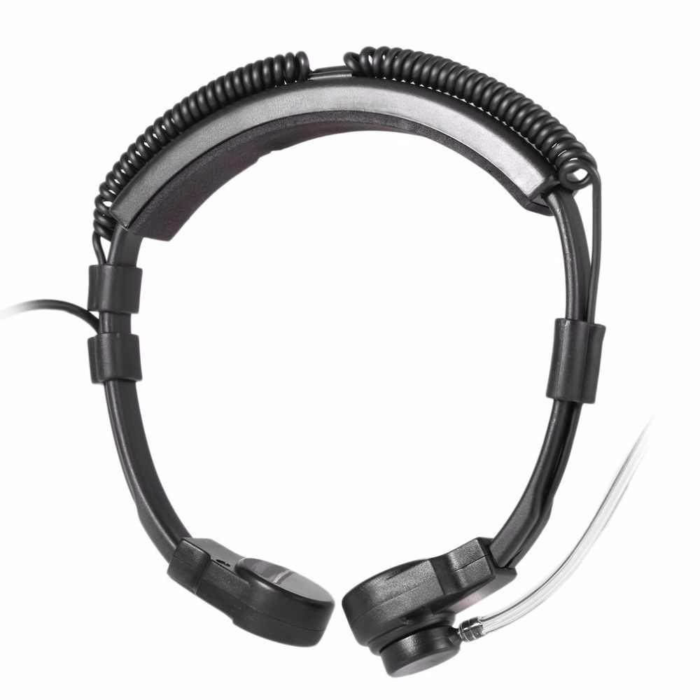 PRC152 Walkie Talkie U94 Hals Throat Mic Oortelefoon Radio Tactische Headset Voor Tri Tca/Een PRC-148 PRC152 Walkie Talkie 6-Pin