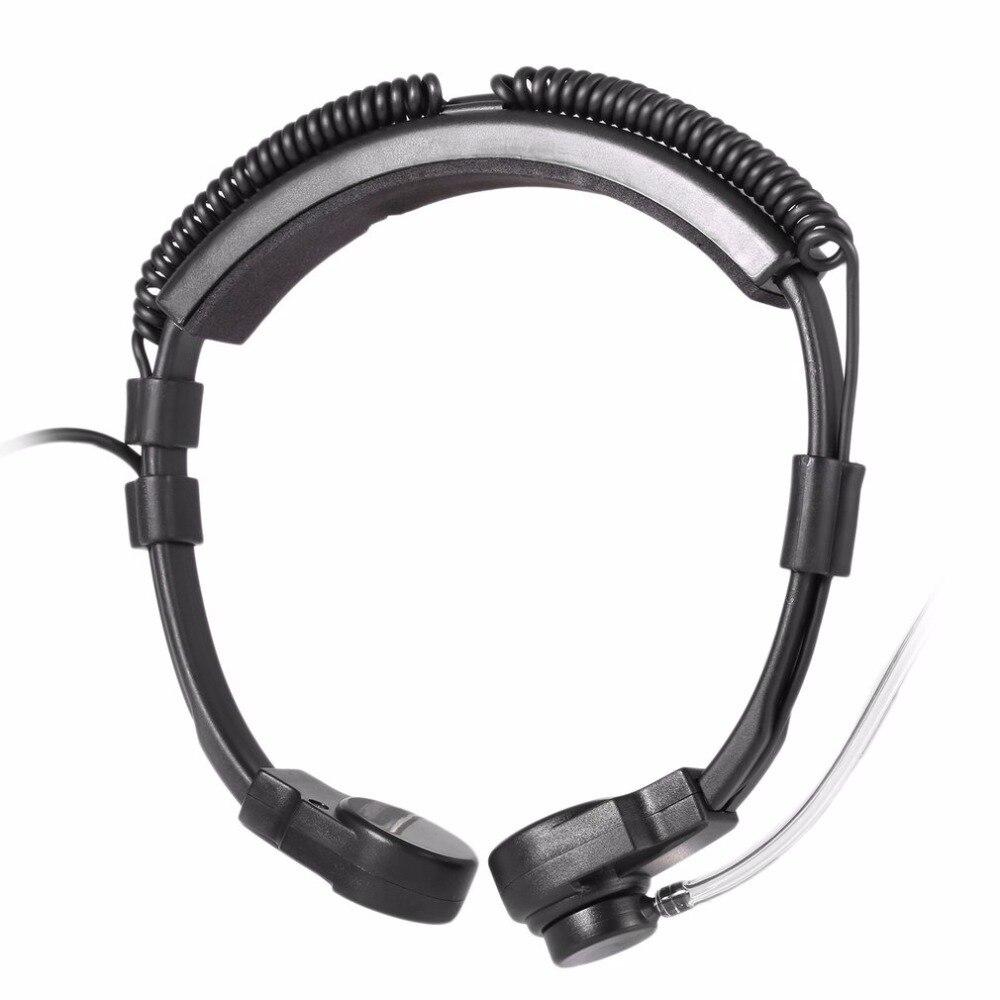 PRC152 Walkie Talkie U94  Neck Throat Mic Earpiece Radio Tactical Headset for  TRI TCA/AN PRC-148 PRC152 Walkie Talkie 6-PIN