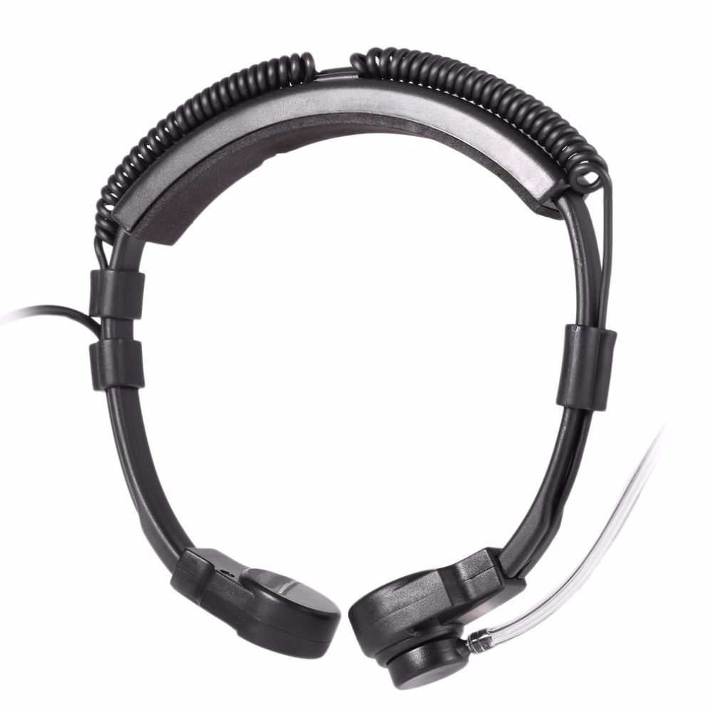 telescópica vibração mic fone de ouvido UV-XR uv9r GT-3WP walkie talki