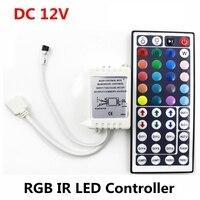 DC 12V 6A 72W IR RGB LED Controller 44 Schlüssel Led-treiber Fernbedienung Dimmer Für LED Streifen RGB SMD 2835 3528 5050 3014 5630