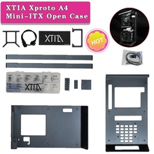 XTIA Xproto A4 Mini-ITX Open Case Mini Tower Case Dark Grey Computer Case