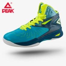 Пиковая Мужская баскетбольная обувь Soaring II FIBA с высокой защитой лодыжки, безопасные баскетбольные кроссовки, профессиональная обувь с амортизацией