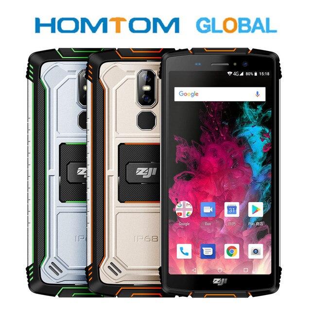 HOMTOM ZOJI Z11 هاتف ذكي 10000mAh IP68 مقاوم للماء 4GB 64GB ثماني النواة هاتف محمول 4G FDD 5.99 بوصة الهاتف المحمول