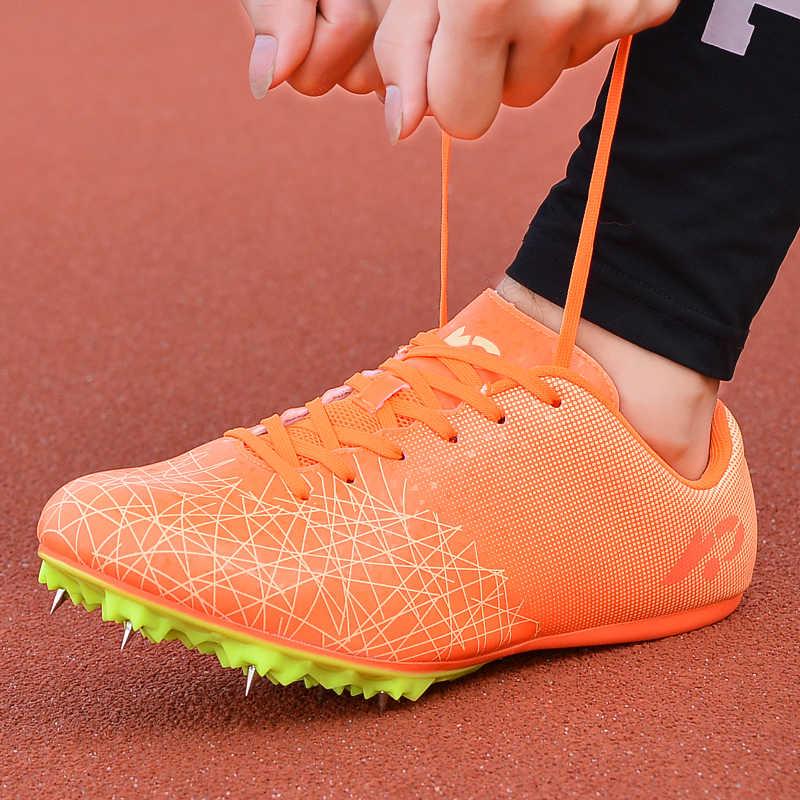 2019 novos sapatos de futebol longos picos alta superior tornozelo sapatos de futebol botas ao ar livre para homens adultos crianças sapatos de treinamento atlético